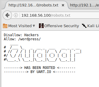 Quaoar vulnerable machine from vulnhub.com